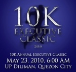 10km - 45:14 - 4th place (UP Diliman - 5/23/10)